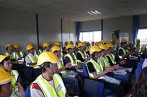 Crane operator training