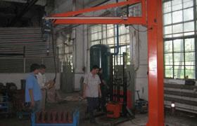 Jib crane manufacturers in uae – Workstation Jib Crane